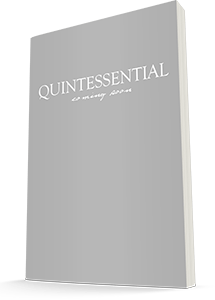 Quintessential Book Coming Soon